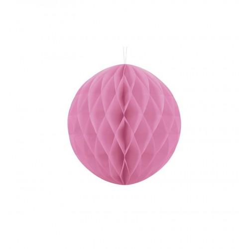 Kula bibułowa różowa
