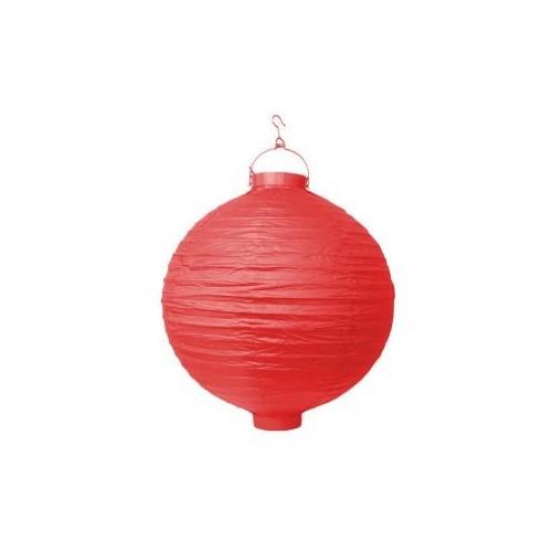Lampion papierowy - czerwony