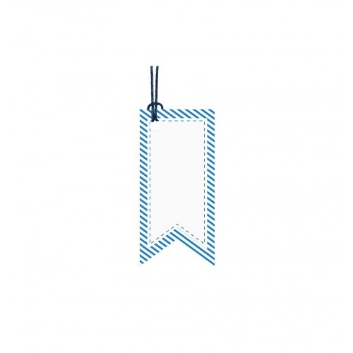 Zawieszki dekoracyjne w niebieskich odcieniach (6 sztuk)