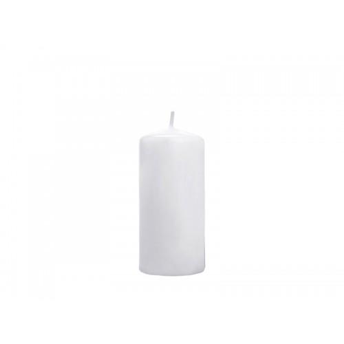 Matowa świeca klubowa - biały
