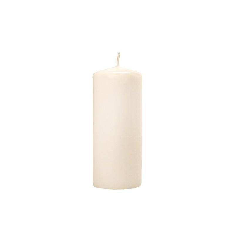 Matowa świeca klubowa - krem