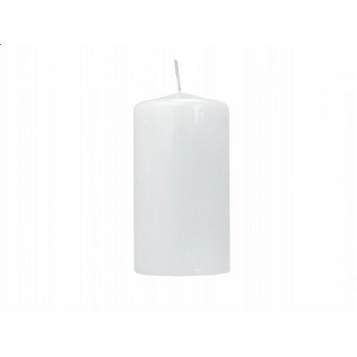 Lakierowana świeca klubowa - biały