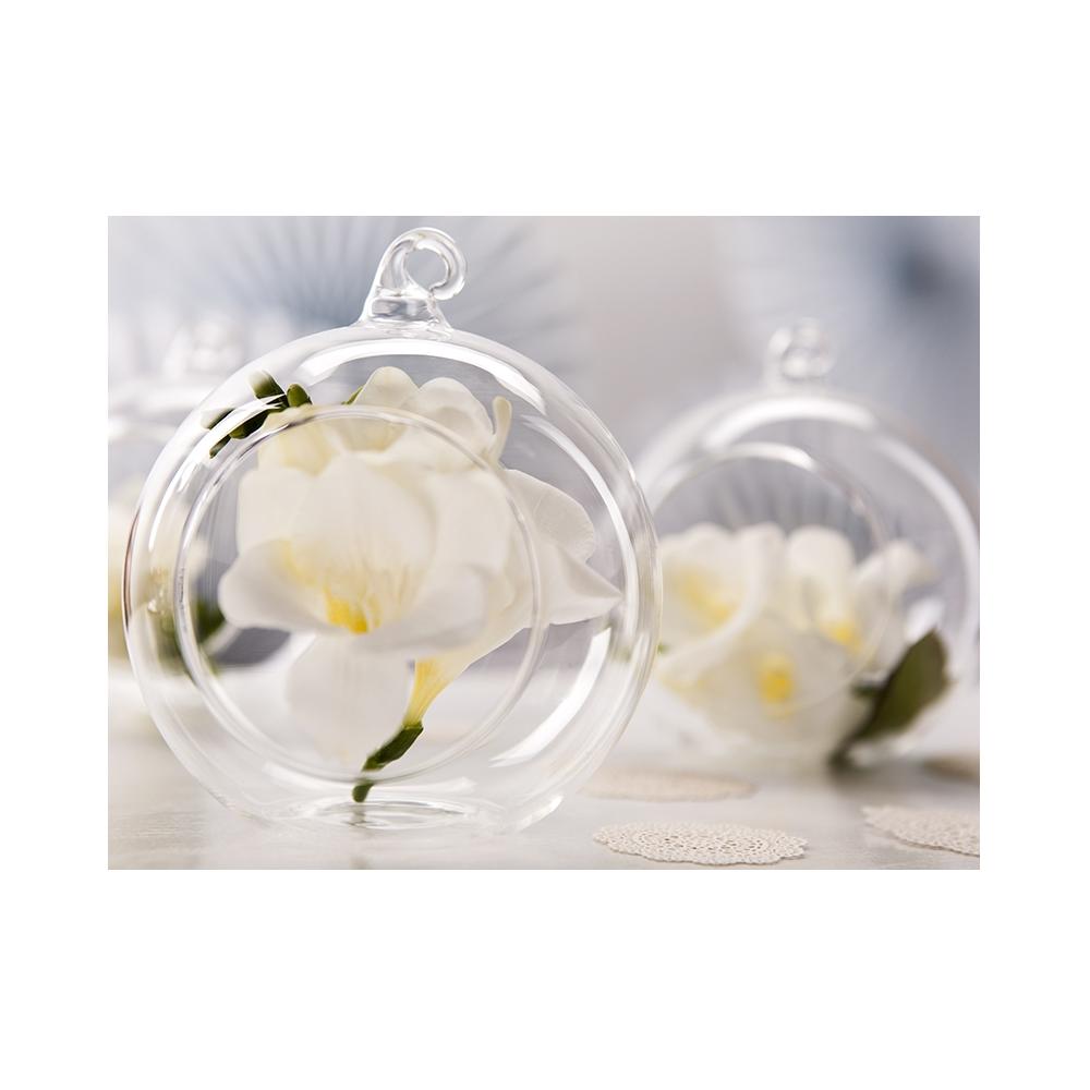 Szklane Kule Ze Wstążką Weddingstorepl