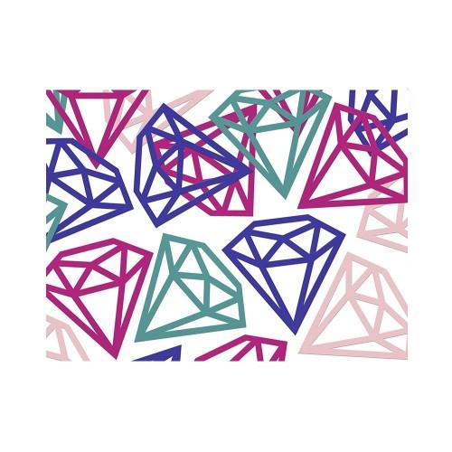 Konfetti - kolorowe diamenty