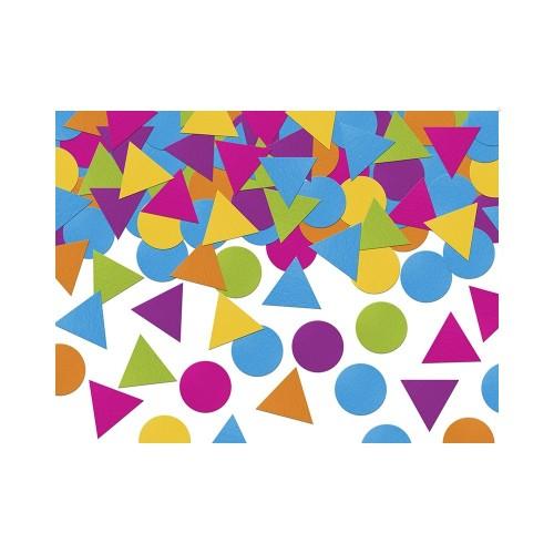 Konfetti - kolorowe kształty