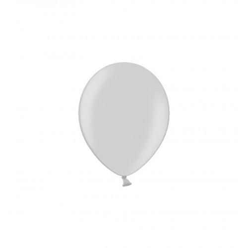Przezroczyste, metaliczne balony (100 sztuk)