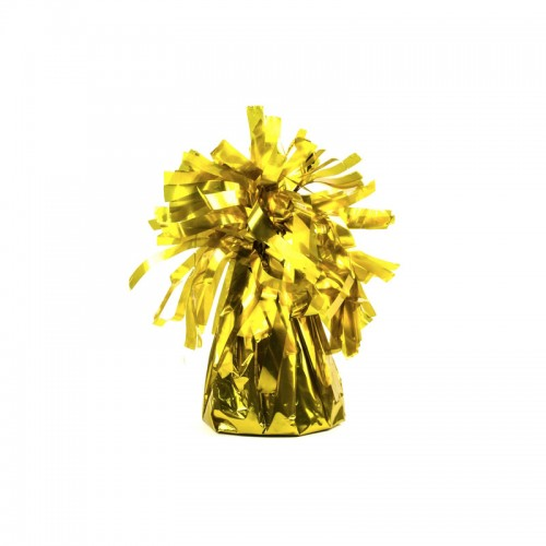 Obciążnik do balonów - złoty (4 sztuki)