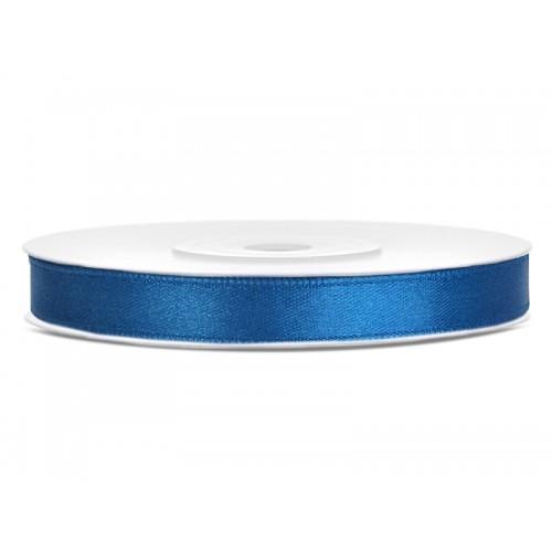 Tasiemka satynowa - niebieska