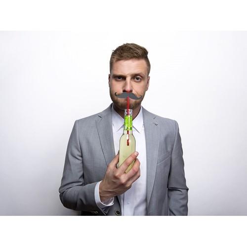 Słomki wąsy (6 sztuk)