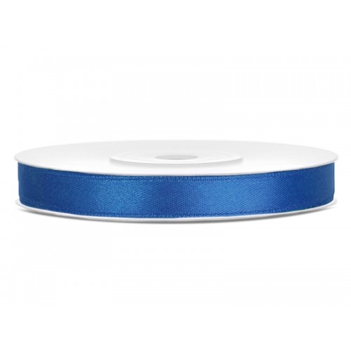 Tasiemka satynowa - królewsko niebieska