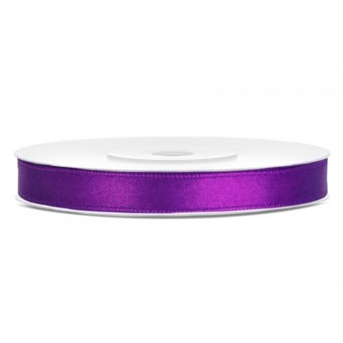 Tasiemka satynowa - purpurowa