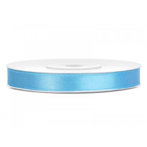 Tasiemka satynowa - błękitna