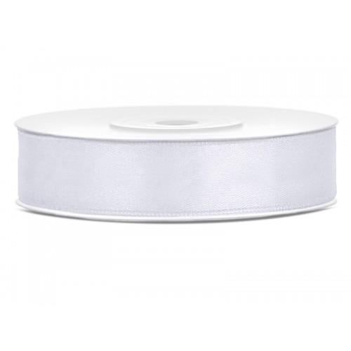 Tasiemka satynowa - biała