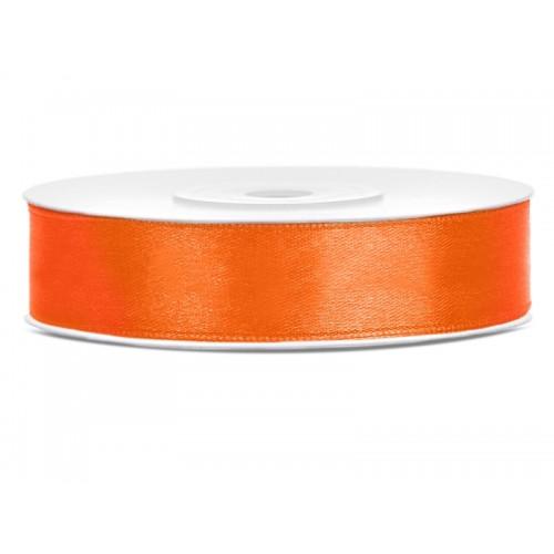 Tasiemka satynowa - pomarańczowa