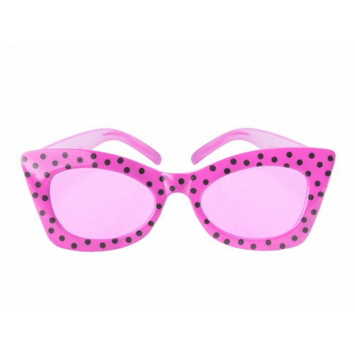 Okulary Pink with Black