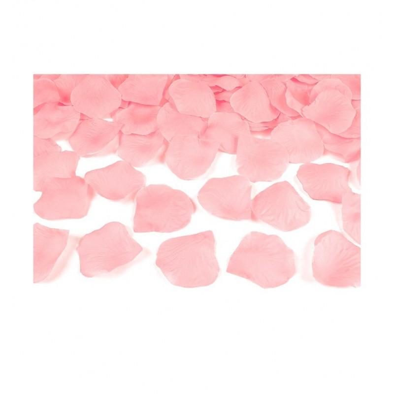 Płatki róż - jasnoróżowe