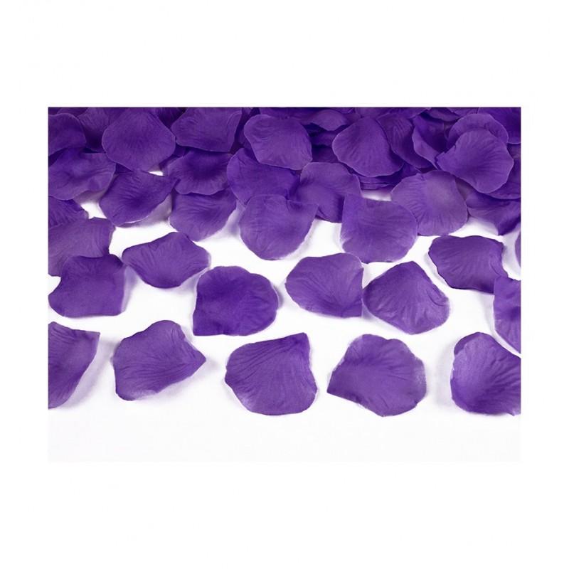 Płatki róż - fioletowe