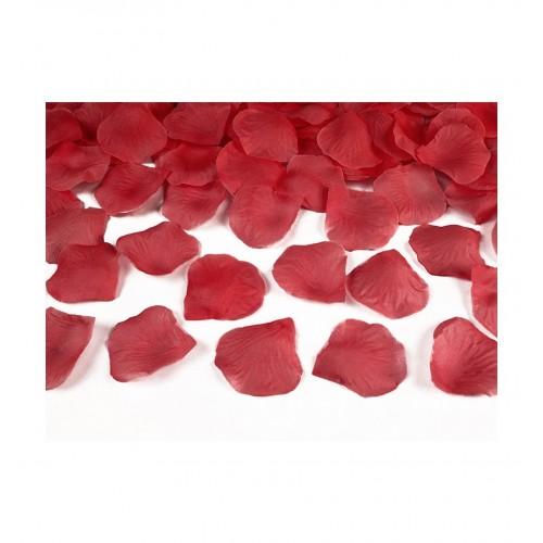 Płatki róż - czerwone