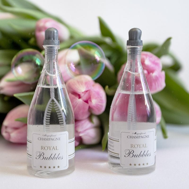 Bańki mydlane - szampan