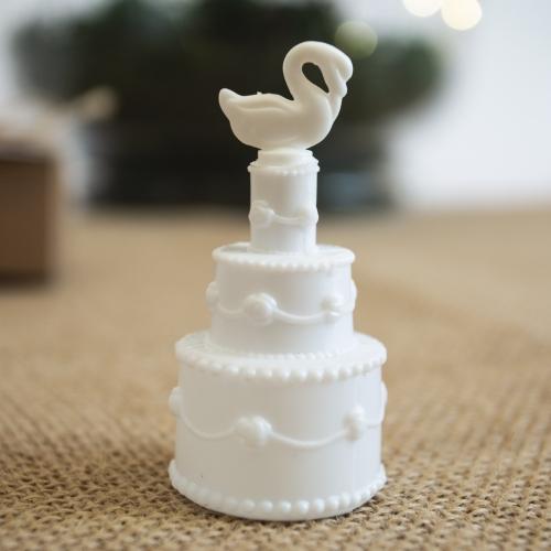 Bańki mydlane - torciki z łabędziem