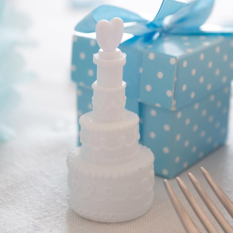 Bańki mydlane - torciki z serduszkiem