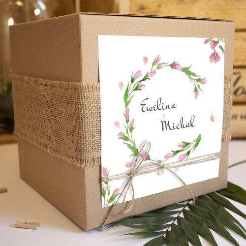 Pudełko na koperty - Floral