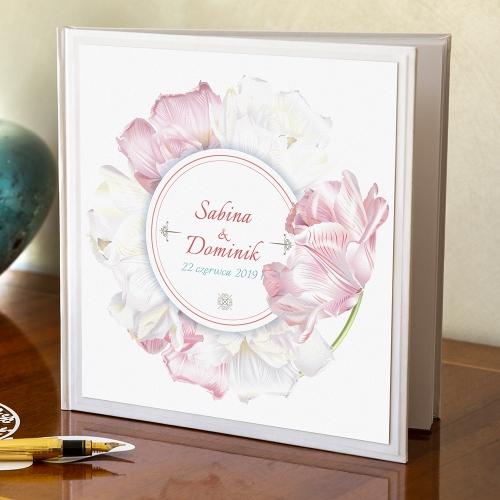 Księga gości - Perłowe Magiczne tulipany