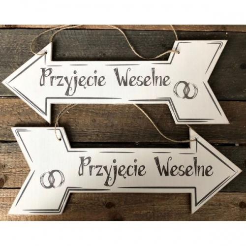 """Drogowskaz na wesele - """"Przyjęcie Weselne"""""""