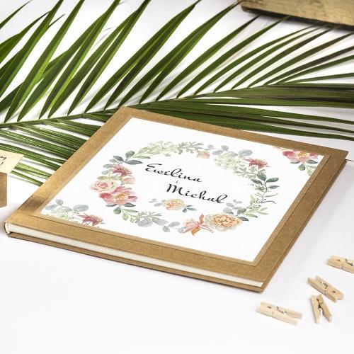 Księga gości - Floral VI