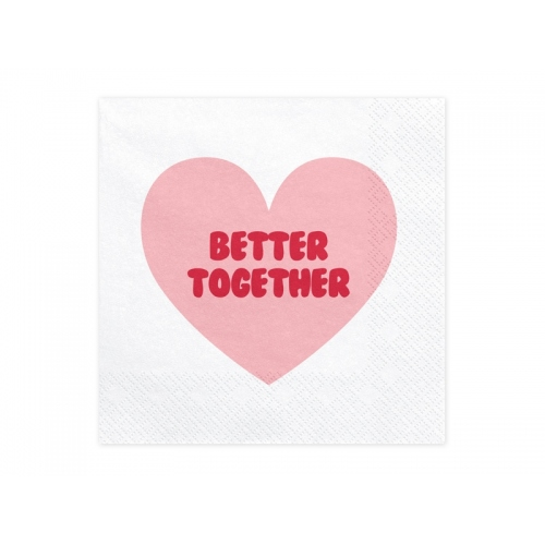 Serwetki papierowe Sweet Love (20 sztuk)