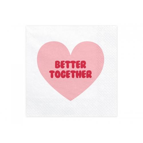 Serwetki papierowe Sweet Love