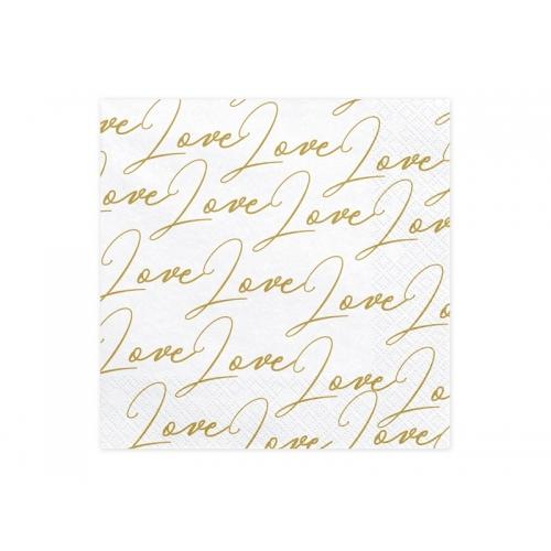 Serwetki papierowe Love