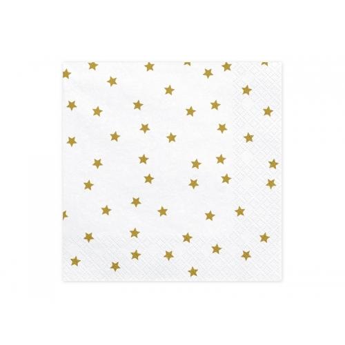 Serwetki papierowe Gwiazdki (20 sztuk)