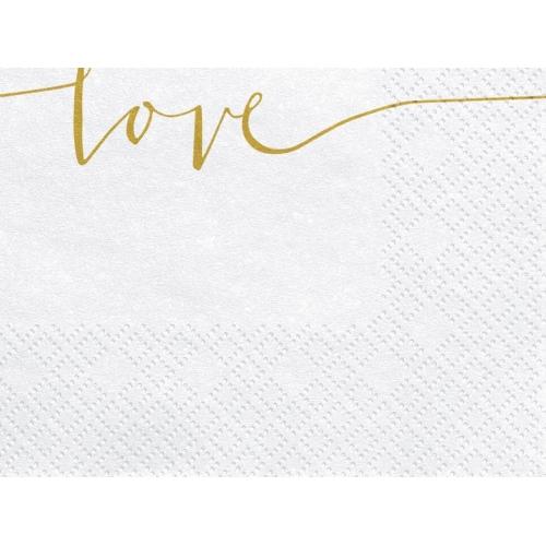Serwetki papierowe Love (20 szt.)