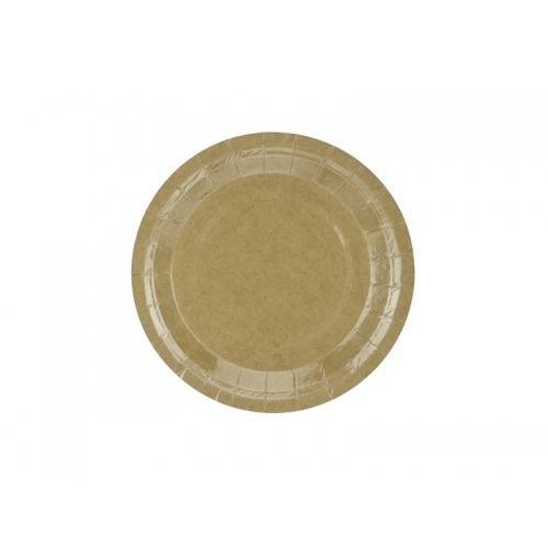 Talerzyki papierowe 18 cm, EKO (6 sztuk)