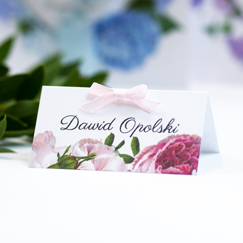 Winietka weselna - Romantyczne Piwonie
