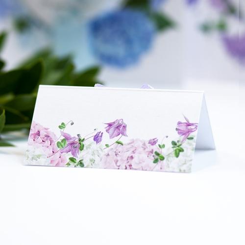 Winietka weselna - Błękitne Hortensje