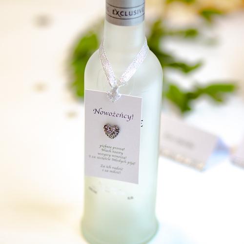 Ozdoba alkoholu - Silver Line