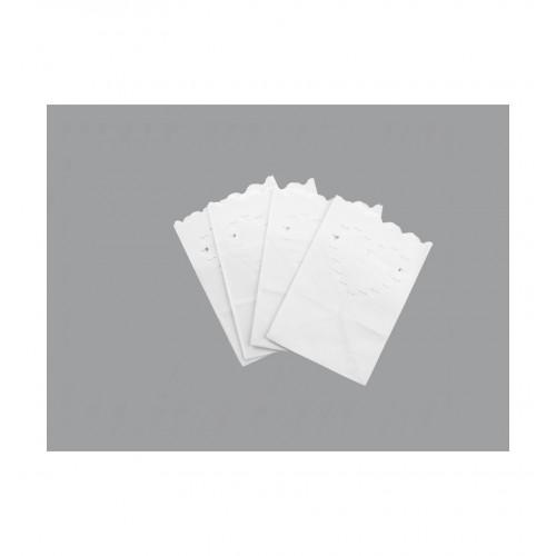 Małe lampiony - torebki z sercami (10 sztuk)