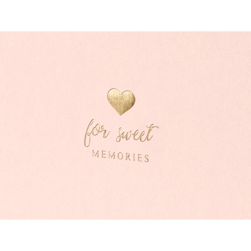 """Księga gości z napisem """"For Sweet Memories"""""""