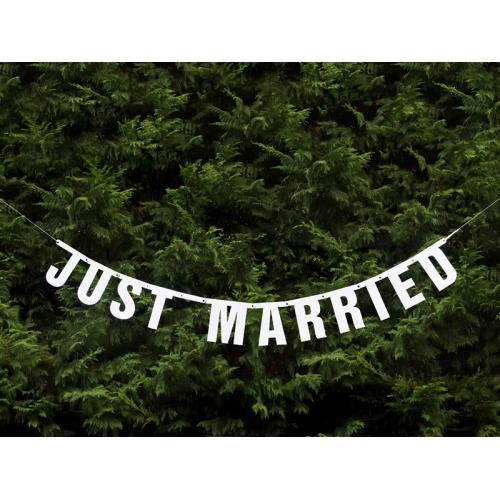 "Baner ""Just Married"""