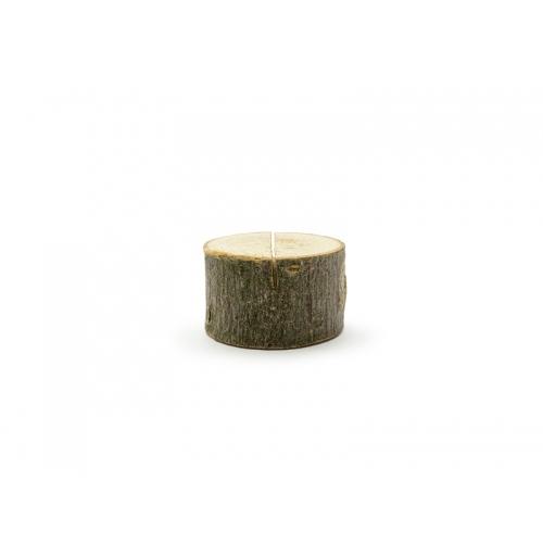Drewniany stojak na wizytówki/winietki (10 sztuk)