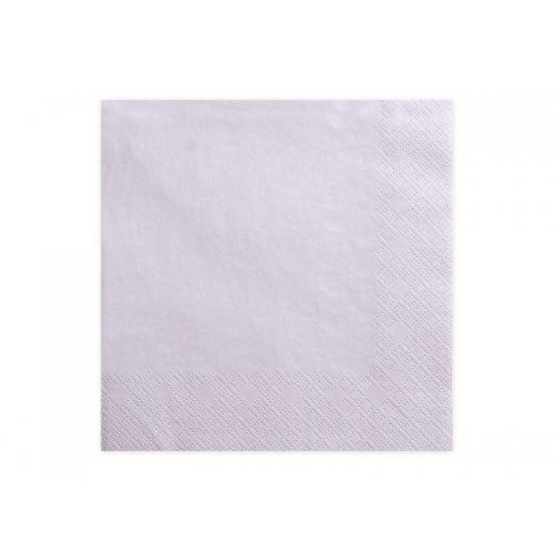 Serwetki papierowe - j. lawendowe (20 sztuk)