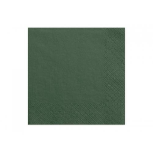 Serwetki papierowe - b.zieleń (20 sztuk)