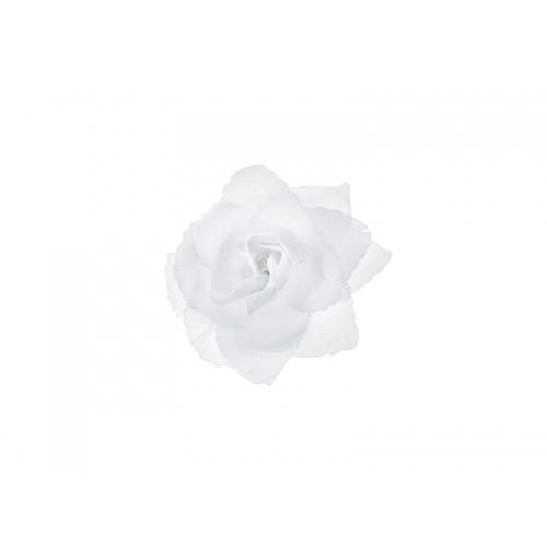 Różyczki do przylepiania, białe (24 sztuki)
