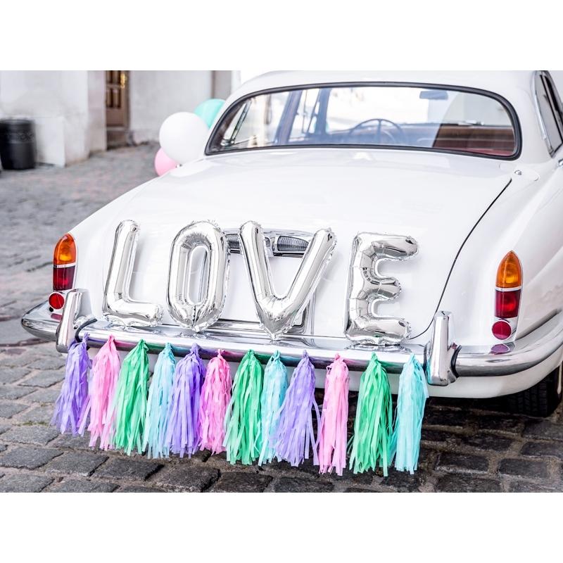 Zestaw dekoracji samochodowych - LOVE mix