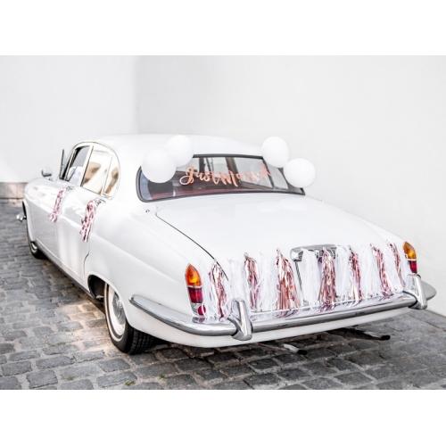 Zestaw dekoracji samochodowych - Just Married