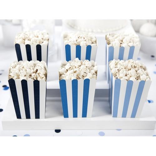 Pudełka na popcorn, samolocik (6 sztuk)