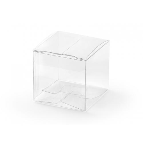 Transparentne pudełeczka (10 sztuk)