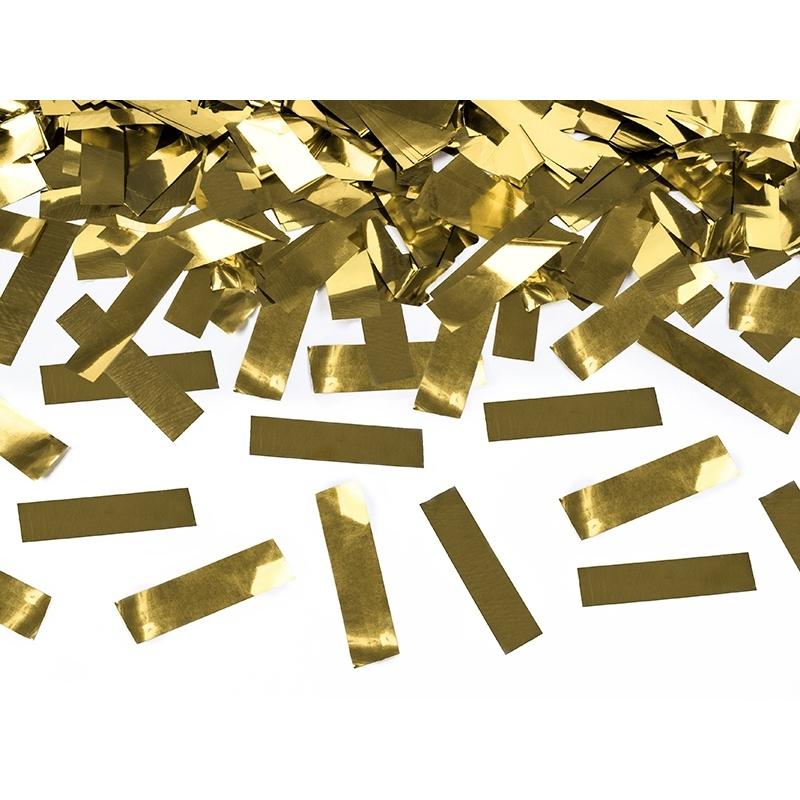 Strzelająca tuba - złota